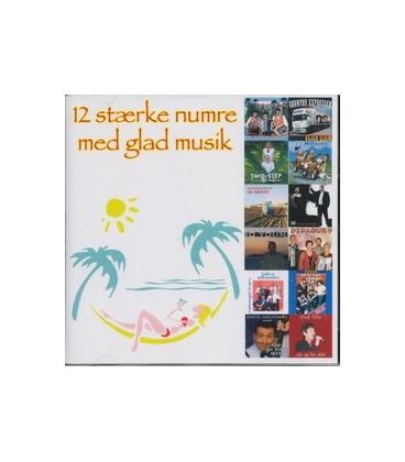 12 stærke numre med glad musik