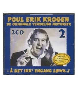 Poul Erik Krogen De originale Vendelbo historier 2 CD - blå