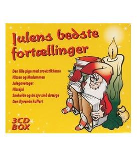 Julens bedste fortællinger 3 CD