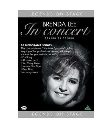 Brenda Lee In Concert Coming on Strong (DVD Musikvideo)