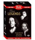 True Legends George Harrison/Bob Marley/Jimi Hendrix (3DVD) (Music-DVD)mm