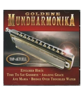 Goldene Mundharmonika
