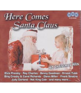 Here Comes Santa Claus - 42 originale hits - 3 CD