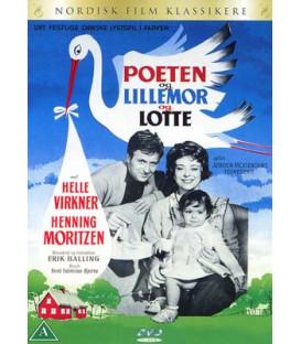Poeten og Lillemor og Lotte - DVD - BRUGT