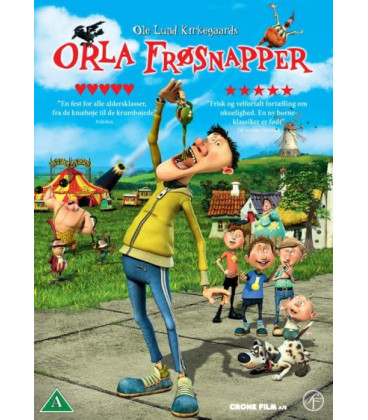 Orla Frøsnapper - DVD - BRUGT