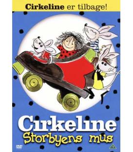 Cirkeline: Storbyens mus -DVD - BRUGT