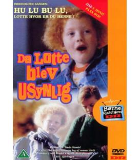 Da Lotte blev usynlig: Alle 6 afsnit! - DVD - BRUGT