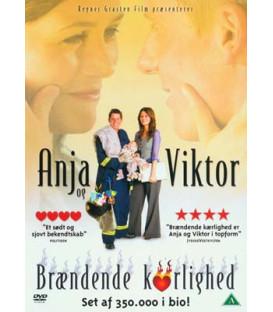 Anja og Viktor - Brændende kærlighed - DVD - BRUGT