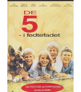 De 5 i fedtefadet - DVD - BRUGT