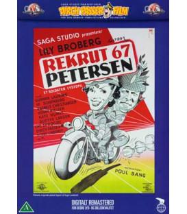 Rekrut 67 Petersen - DVD - BRUGT