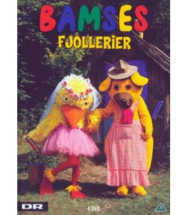 Bamses Billedbog: Bamses fjollerier (4-disc) - DVD - BRUGT
