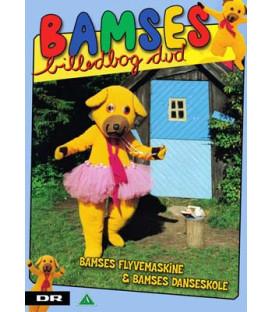 Bamses billedbog: Flyvemaskine og danskeskole - DVD - BRUGT