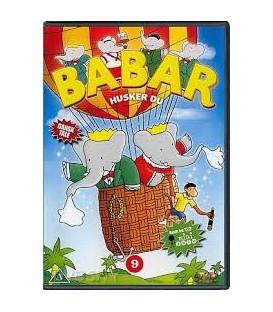 BABAR 9 - Husker du - DVD - BRUGT