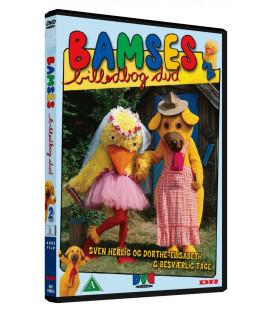 Bamses Billedbog - Sven Herlig og Dorthe-Elisabeths Bryllupsrejse - DVD - BRUGT