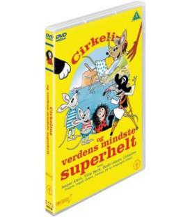 Cirkeline og verdens mindste superhelt - DVD - BRUGT