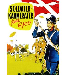 Soldaterkammerater på sjov - DVD - BRUGT