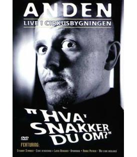 Anders Matthesen: Live i Cirkusbygningen - Hva' snakker du om? - DVD