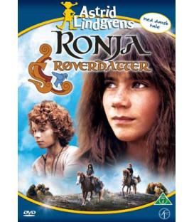 Astrid Lindgren - Ronja Røverdatter - DVD - BRUGT