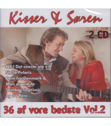 KISSER & SØREN 36 AF VORE BEDSTE VOL. 2 - 2 CD A