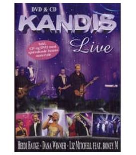Kandis (2) – Live - CD og DVD - BRUGT