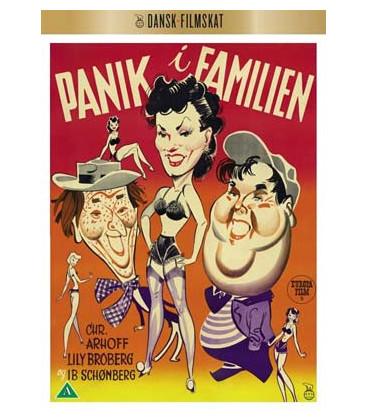 Panik i familien - DVD