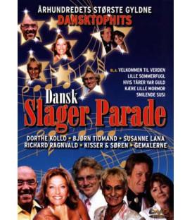 Dansk Slager Parade - DVD - BRUGT