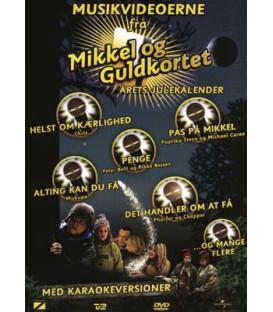 Mikkel og Guldkortet - Musikvideoerne fra Mikkel og Guldkortet - DVD - BRUGT