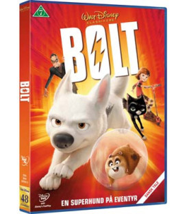 Bolt - Disney - DVD - BRUGT