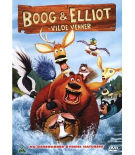 Boog & Elliot - Vilde Venner - DVD - BRUGT