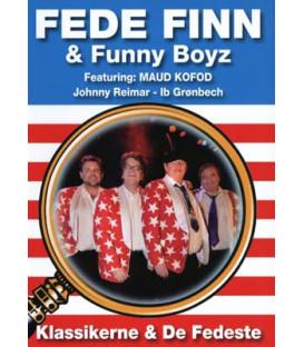 Fede Finn & Funny Boyz: Klassikere og de fedeste - DVD - BRUGT