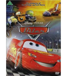 Biler (Pixar) - Disney - DVD - BRUGT
