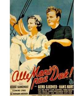 Alle Mand På Dæk - DVD - Nyhed maj 2020