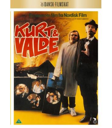 Kurt Og Valde - Småsvindlere På Deltid - DVD -. Udkommer 28/5-2020
