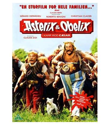 Asterix & Obelix i kamp mod Cæsar - DVD - BRUGT