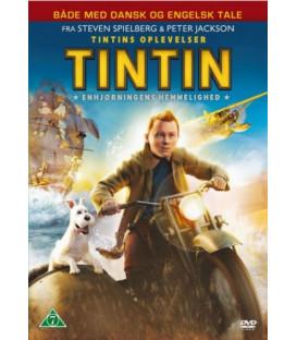Tintin - Enhjørningens Hemmelighed - DVD - BRUGT