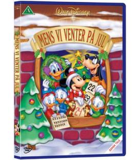 Mens vi venter på jul - Disney -DVD - BRUGT