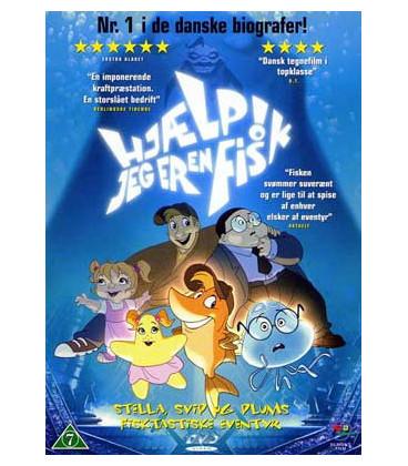 Hjælp! Jeg er en fisk - DVD - BRUGT