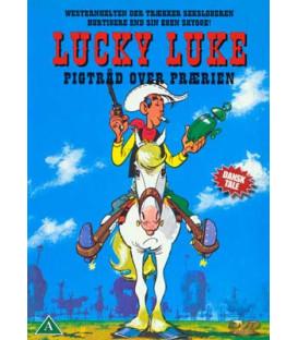 Lucky Luke 02 - Pigtråd Over Prærien - DVD -BRUGT