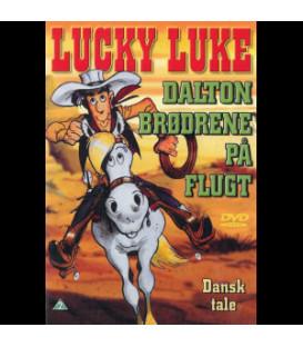 LUCKY LUKE - DALTON BRØDRENE PÅ FLUGT - DVD - BRUGT