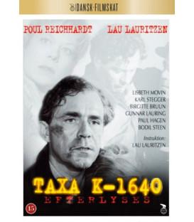 Taxa K-1640 efterlyses - DVD - NYHED AUGUST 2020 - ER PÅ LAGER