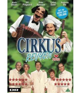 Cirkusrevyen 2013 - DVD - BRUGT
