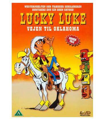 Lucky Luke 4: Vejen til Oklahoma / Slægtsfejden - DVD - BRUGT