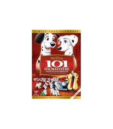 101 Dalmatinere – Hund og hund imellem- Disney - 2 DVD - BRUGT