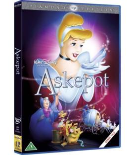 Askepot - Disney Klassiker - Guldnummer 12 - DVD - BRUGT