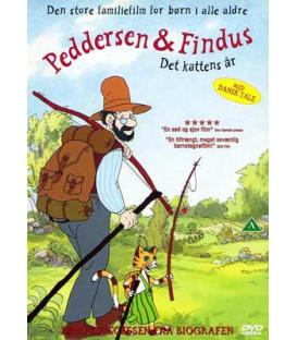 Peddersen & Findus: Det kattens år - DVD - BRUGT