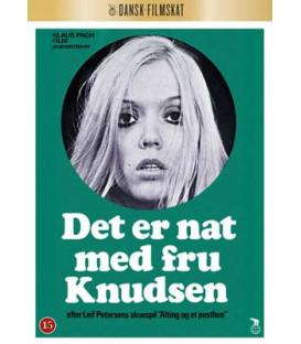 Det er nat med fru Knudsen (Dansk Filmskat) - DVD - - NY - SEPTEMBER 2020