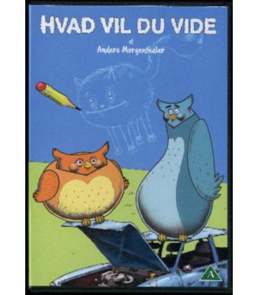 ANDERS MORGENTHALER Hvad Vil Du Vide - DVD - BRUGT
