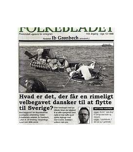 IB GRØNBECH Hvad er det, der får en rimeligt velbegavet dansker til at flytte til Sverige? - CD - BRUGT