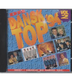 Dansk top '94, vol. 2 - CD - BRUGT