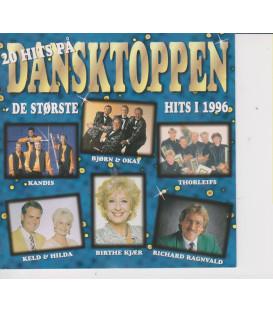 20 hits på Dansktoppen - CD - BRUGT
